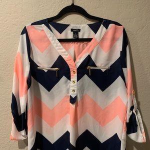 Nautical white knit sweater